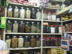 Even in a metropolitan city like bangalore, there are both high and low range bulk store.